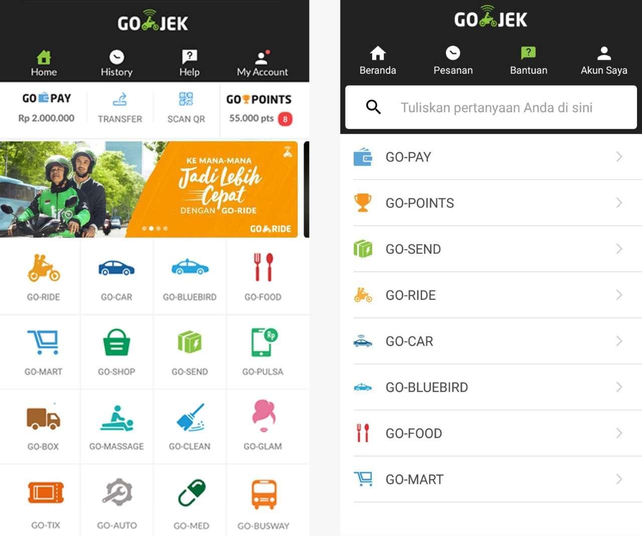 Go Jeck Pay: Begini Cara Pakai Aplikasi Go-Jek Indonesia Di Singapura