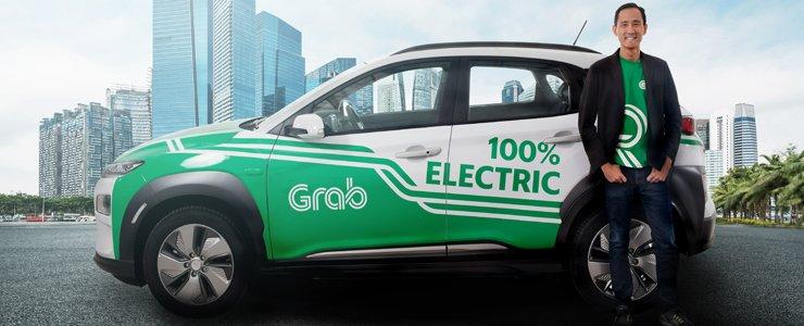 Grab Bawa Tim R dan D Mobil Listrik ke Indonesia