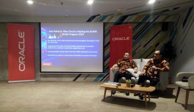 Pantau Mudik Bareng, Jasa Raharja Gunakan Teknologi Oracle