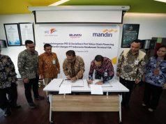 Indonesia Kendaraan Terminal Sediakan Layanan Port Value Chain Financing
