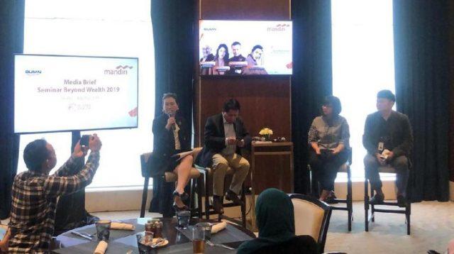 Bank Mandiri Paparkan Prospek Industri 4.0 ke Nasabah Tajir