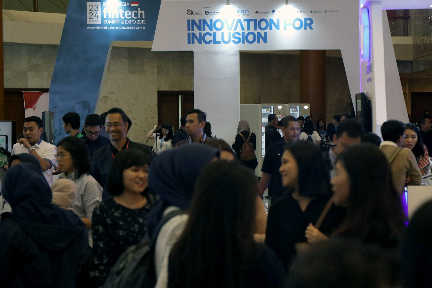 Kemeriahan Indonesia FinTech Summit and Expo 2019