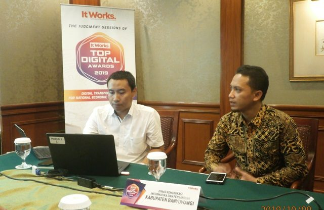 TOP DIGITAL Awards 2019: Kabupaten Banyuwangi Perkuat E-Government